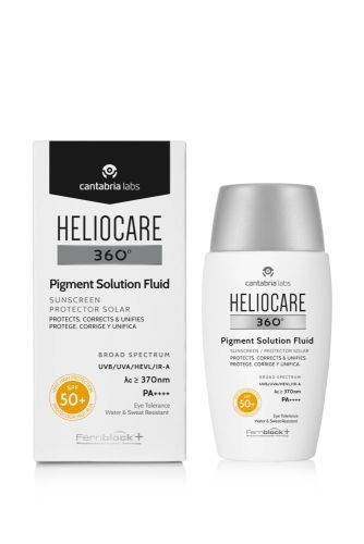 Heliocare 360° PIGMENT SOLUTION FLUID SPF50+