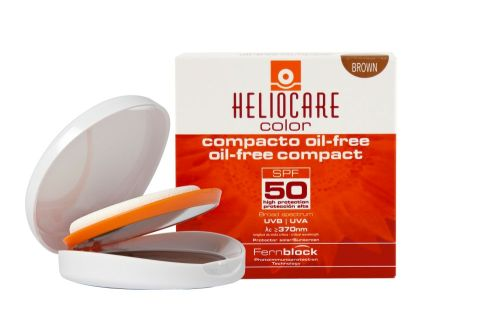 Heliocare Compact Oil-Free SPF 50 (Brown)